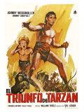 Tarzan Triumphs, Spanish Movie Poster, 1943 Premium Giclee Print