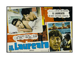 The Graduate, Italian Movie Poster, 1967 Premium Giclee Print