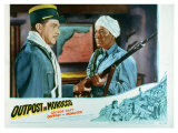 Outpost in Morocco, 1949 Giclee Print
