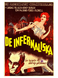 Carnival of Souls, Swedish Movie Poster, 1962 Poster