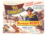 Seventh Cavalry, 1956 Plakater