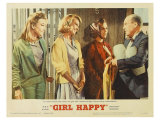 Girl Happy, 1965 Giclee Print