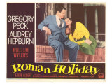 Roman Holiday, 1953 Poster