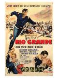 Rio Grande, 1950 Poster