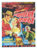 Red River, Belgian Movie Poster, 1948 Posters
