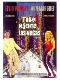 Viva Las Vegas, German Movie Poster, 1964 Prints