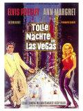 Viva Las Vegas, German Movie Poster, 1964 Premium Giclee Print