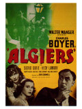 Algiers, 1938 Reproduction procédé giclée