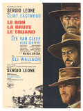 The Good, The Bad and The Ugly, French Movie Poster, 1966 Giclee Print