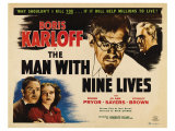 The Man with Nine Lives, 1940 Giclée-tryk