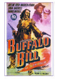 Buffalo Bill, Spanish Movie Poster, 1944 Lámina giclée