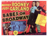 Babes on Broadway, 1941 Giclee Print