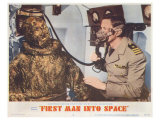 First Man Into Space, 1959 Print
