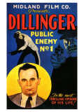 Dillinger- Public Enemy No. 1 Gicle-tryk