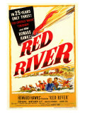 Red River, 1948 Giclee Print
