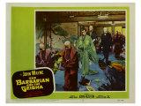The Barbarian and the Geisha, 1958 Print