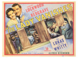 The Lady Vanishes, 1938 Giclee Print