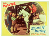 Riders of Destiny, 1934 Poster