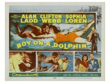 Boy on a Dolphin, 1957 Posters