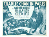 Charlie Chan in Paris, 1935 Giclee Print