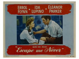 Escape Me Never, 1947 Posters