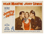 Jumping Jacks, 1952 Print