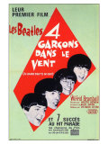 A Hard Day's Night, French Movie Poster, 1964 Gicle-tryk