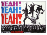 A Hard Day's Night, German Movie Poster, 1964 Gicle-tryk