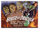 House of Dracula, 1945 Giclee Print