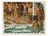 Tarzan and the Leopard Woman, 1946 Giclee Print