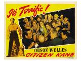 Citizen Kane, 1941 Print