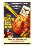 The Brain From Planet Arous, 1958 Print