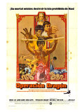 Enter the Dragon, Spanish Movie Poster, 1973 Premium Giclee Print