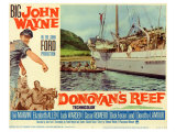 Donovan's Reef, 1963 Gicle-tryk