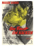 On the Waterfront, German Movie Poster, 1954 Plakát