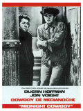 Midnight Cowboy, Spanish Movie Poster, 1969 Print
