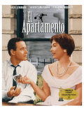 The Apartment, Spanish Movie Poster, 1960 Poster