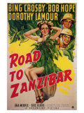 Road to Zanzibar, 1941 Art