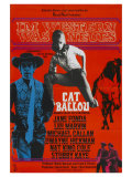 Cat Ballou, German Movie Poster, 1965 Posters