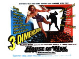 House of Wax, UK Movie Poster, 1953 Reproduction proc&#233;d&#233; gicl&#233;e