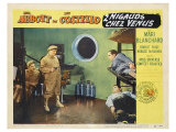 Abbott and Costello Go to Mars, 1953 Premium Giclee Print
