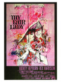 My Fair Lady, Italian Movie Poster, 1964 Prints