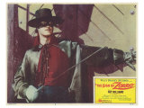 The Sign of Zorro, 1960 Premium Giclee Print