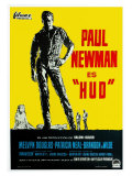 Hud, German Movie Poster, 1963 Lámina giclée