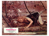 Barbarella, French Movie Poster, 1967 Giclee Print