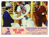 My Fair Lady, Italian Movie Poster, 1964 Digitálně vytištěná reprodukce