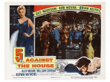 5 Against the House, 1955 Giclee Print
