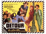 Detour, 1945 Art