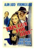 This Gun For Hire, 1942 Reproduction procédé giclée