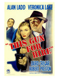 This Gun For Hire, 1942 Giclée-tryk